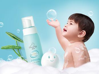 启初婴儿柔净洗发沐浴泡泡评测